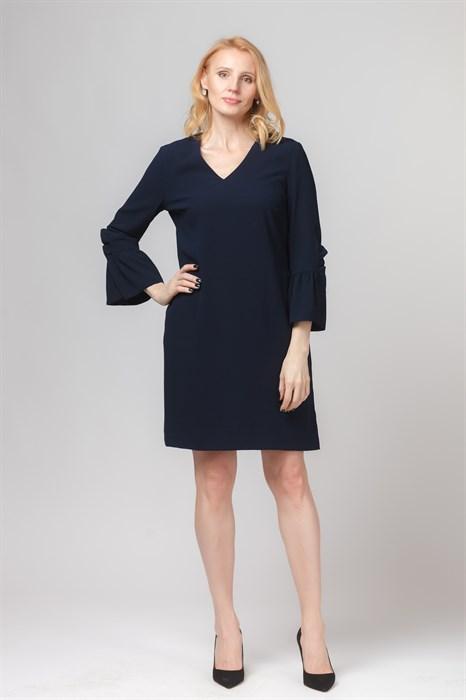 STEFFEN SCHRAUT - Платье короткое тёмно-синее