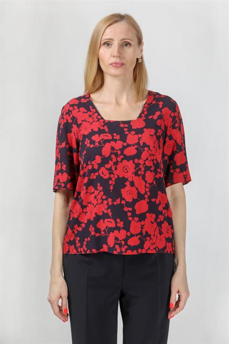 UN JOUR AILLEURS - Блуза с коротким рукавом - фото 5025