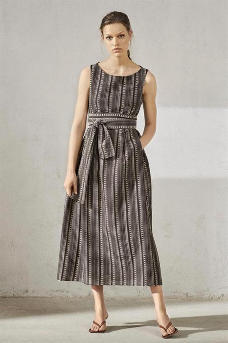 LUISA CERANO - Платье миди расклешенное