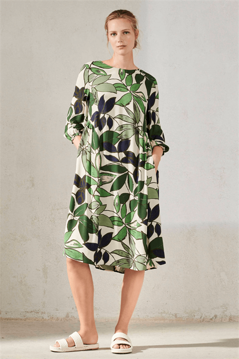 LUISA CERANO - Платье летнее с листьями - фото 7091