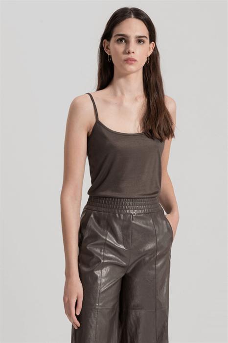 LUISA CERANO - Топ коричневый под блузку