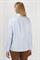 Рубашка голубая с ассиметричным низом - фото 5033