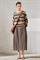 LUISA CERANO - Юбка миди со складками и карманами - фото 6803