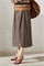 LUISA CERANO - Юбка миди со складками и карманами - фото 6804