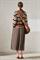 LUISA CERANO - Юбка миди со складками и карманами - фото 6805
