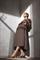 LUISA CERANO - Юбка миди со складками и карманами - фото 6807