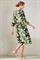 LUISA CERANO - Платье летнее с листьями - фото 7093