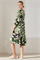 LUISA CERANO - Платье летнее с листьями - фото 7094