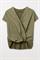 LUISA CERANO - Блузка-рубашка оливковая комбинированная - фото 7142