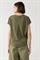 LUISA CERANO - Блузка-рубашка оливковая комбинированная - фото 7143