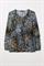 LUISA CERANO - Блузка с камуфляжным принтом - фото 7367