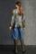 LUISA CERANO - Блузка с камуфляжным принтом - фото 7368