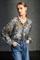 LUISA CERANO - Блузка с камуфляжным принтом - фото 7370