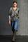 LUISA CERANO - Блузка с камуфляжным принтом - фото 7371