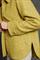 LUISA CERANO - Куртка-рубашка жёлтая с рисунком в елочку - фото 7403