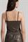 LUISA CERANO - Топ коричневый под блузку - фото 7441